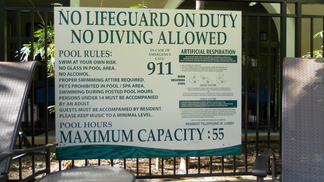 Pool And Spa Signs Sign Innovations